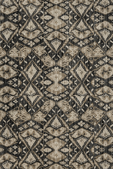 Mohawk Metropolitan Beacon Onyx Rug 5x8 With Modern Pattern