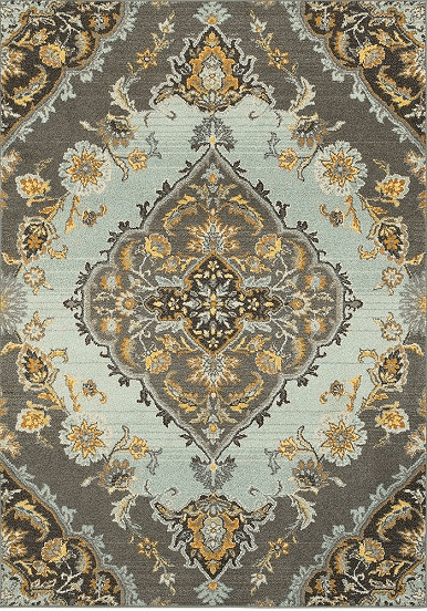 Bohemian Rug With Traditional Pattern