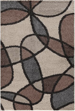 Tacoma Devon Hybrid Pearl/Silver Wild Rug Pattern From Central Oriental