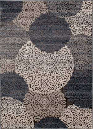 Enjoy Mallory Chalk Nightfall Rug Central Oriental Circles