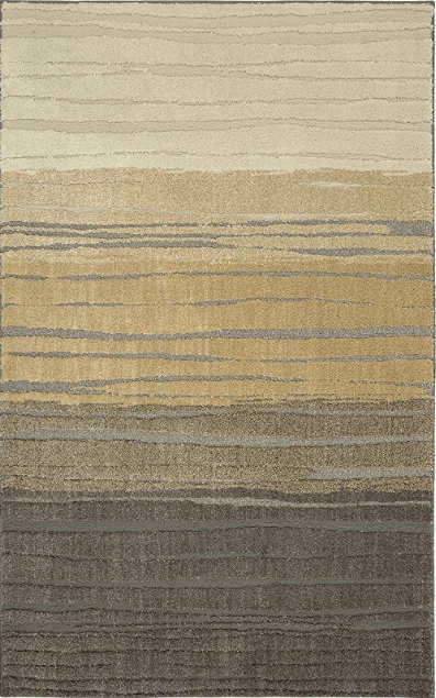Pagosa Tan Soft Shag 5x8 Rug From Mohawk