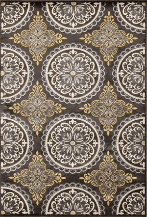 Paris Pena Charcoal Rug From Central Oriental