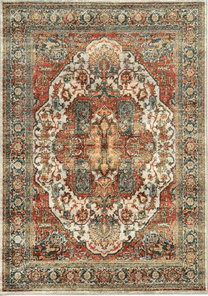 Sphinx Sedona 6382B 5x8 and 8x11 Rug From Oriental Weavers