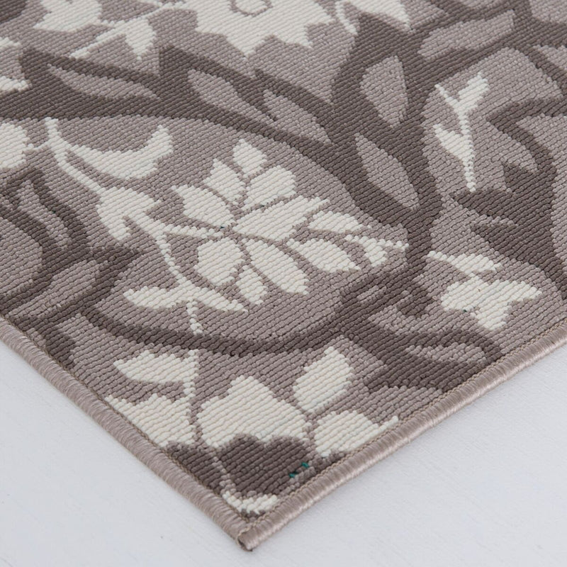 Tributary Adalaria Grey Rug From Central Oriental