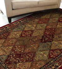 Wembley WB38 Red Rug From Dalyn