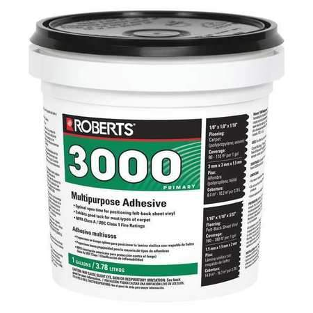Roberts 3000 Multipurpose Adhesive for a wide variety of flooring jobs