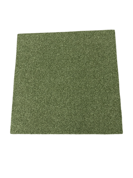 Cloisonne Green Cheque Carpet Tile