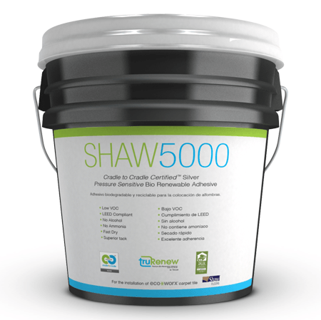 Shaw 5000 Pressure Sensitive Adhesive For Flooring Jobs