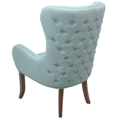 Thomas Arm Chair - Duck Egg Blue  | FREE DELIVERY - OzChairs.com.au™