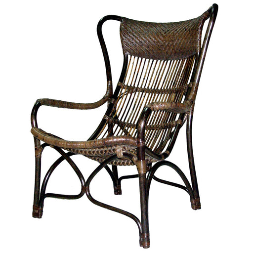 Bahamas Rattan Chair - Natural  | FREE DELIVERY - OzChairs.com.au™