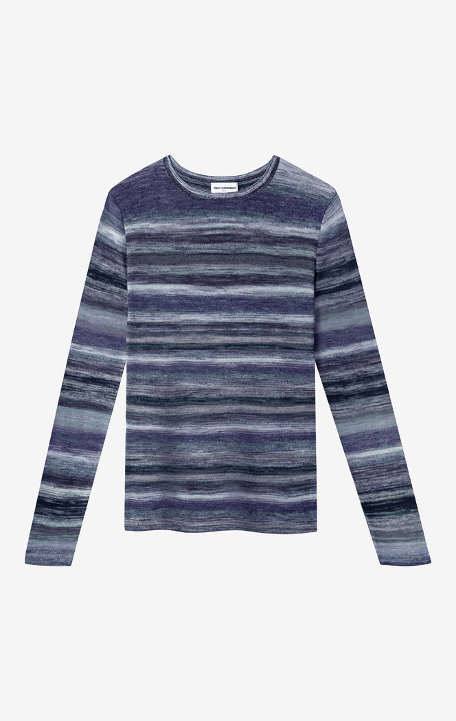 Carl Stripe Crewneck Sweater