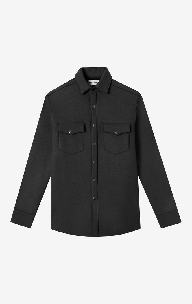 Bonded Wool Work Shirt