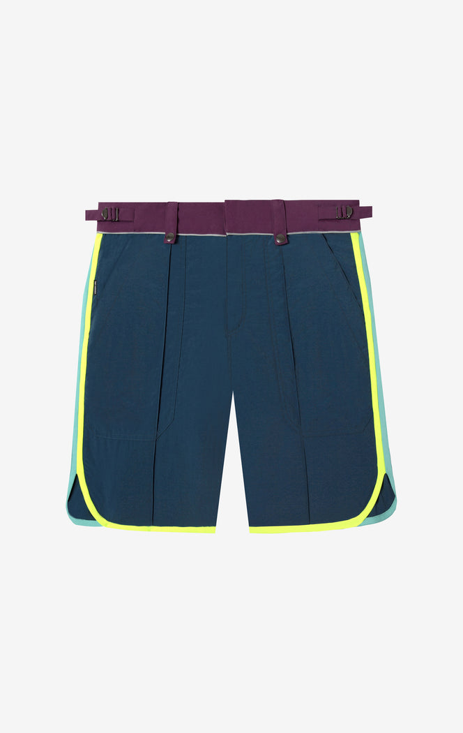 Color Block Jimmy Board Short