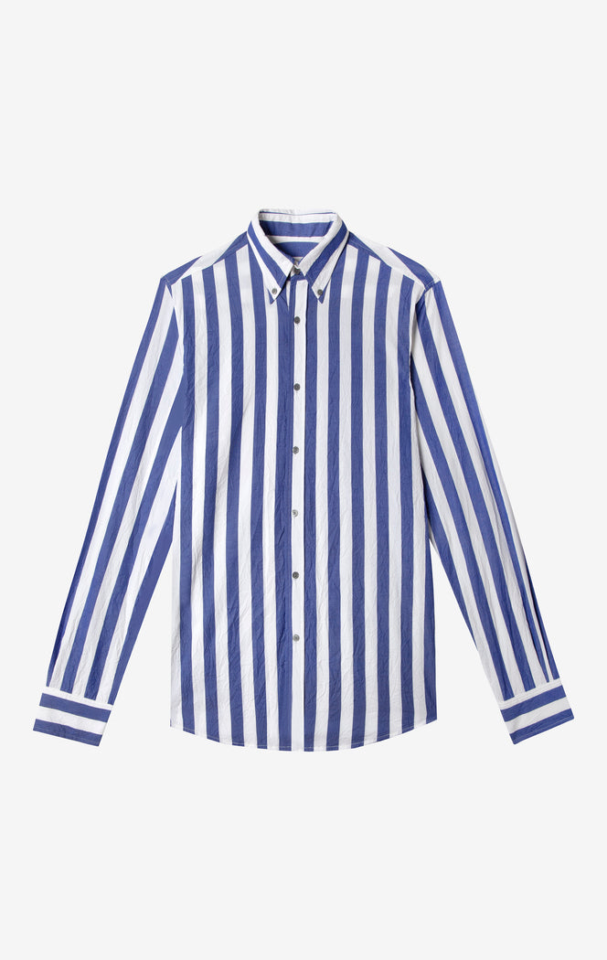 Royal Wide Stripe Shirt