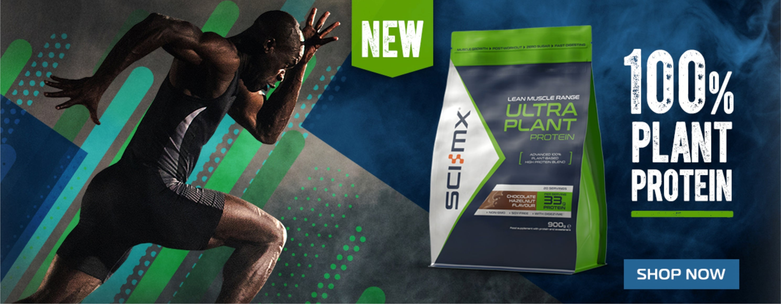 Sci-Mx Nutrition 100% Plant Protein