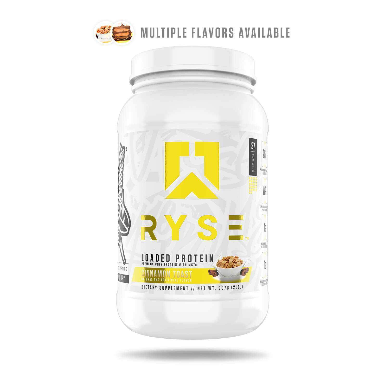RYSE Supplements Loaded Protein 27 Servings Powder-Protein-londonsupps