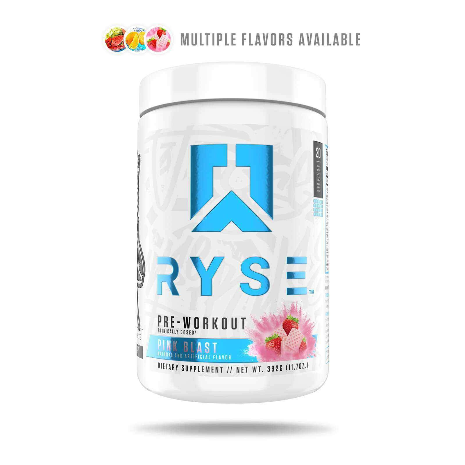 RYSE Supplements Pre Workout 20 Servings Powder-Pre Workouts-londonsupps