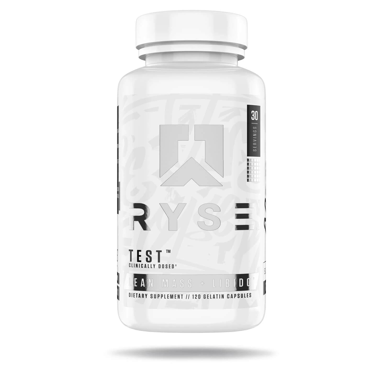 RYSE Supplements Test Booster 120 Capsules-Testosterone Support-londonsupps