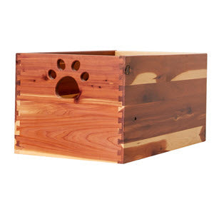 Large Cedar Dog Toy Box - Dynamic Accents Ltd