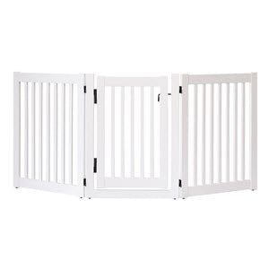 Highlander 3-Panel Walk-Through Pet Gate - Dynamic Accents Ltd