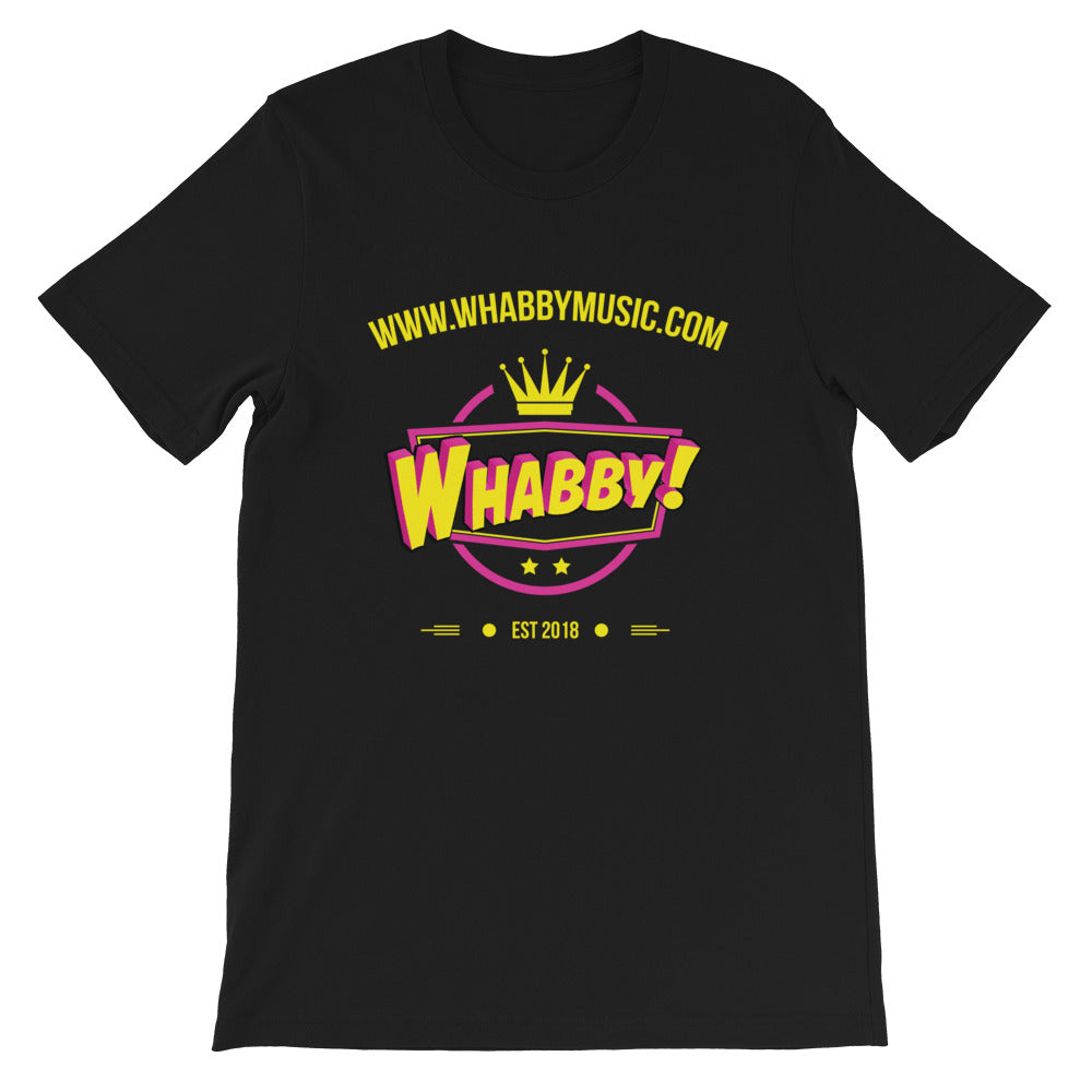 WHABBY! Music (Front) Unisex T-Shirt