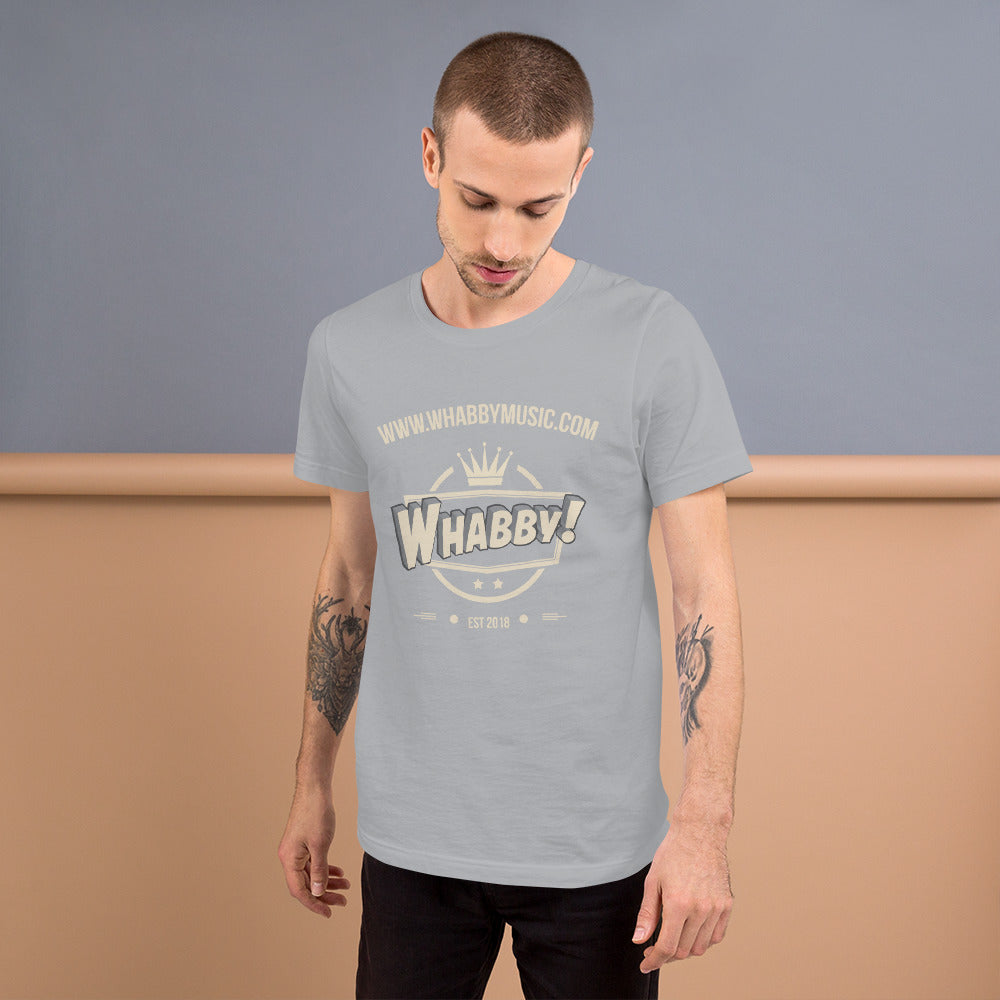 WHABBY! Music Unisex T-Shirt (Design D)