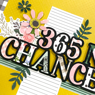 365 NEW CHANCES Cut File