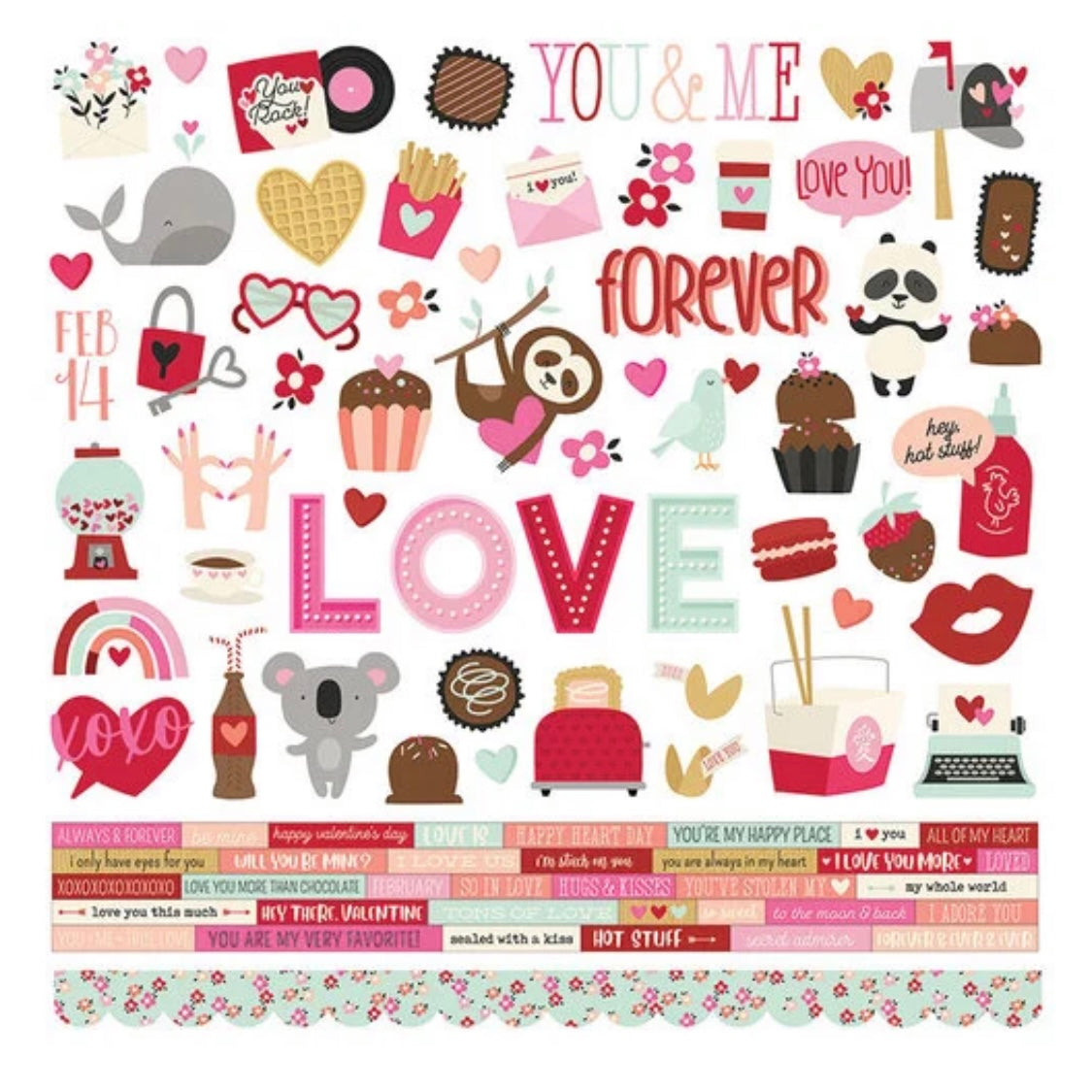 So Much Love Creative Kit