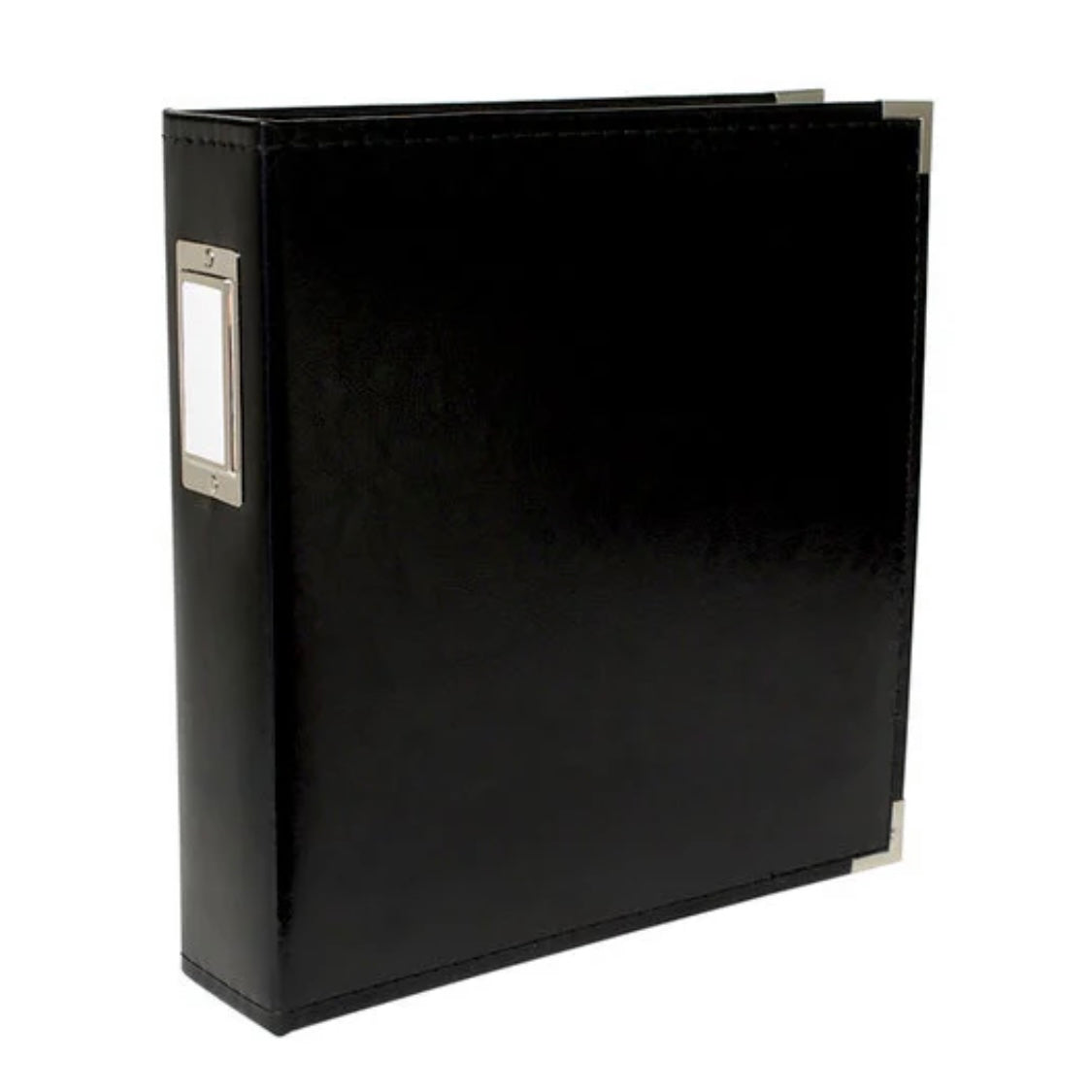 "8.5 x 11"" D Ring Album - Black"