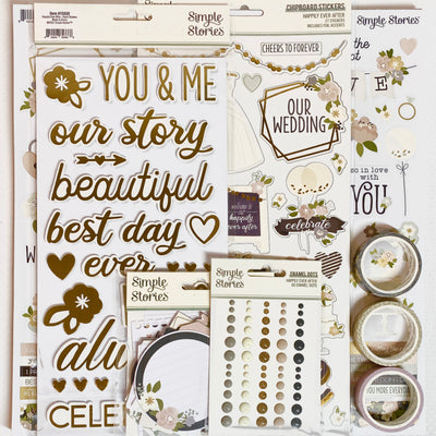 Wedding Memories Creative Kit