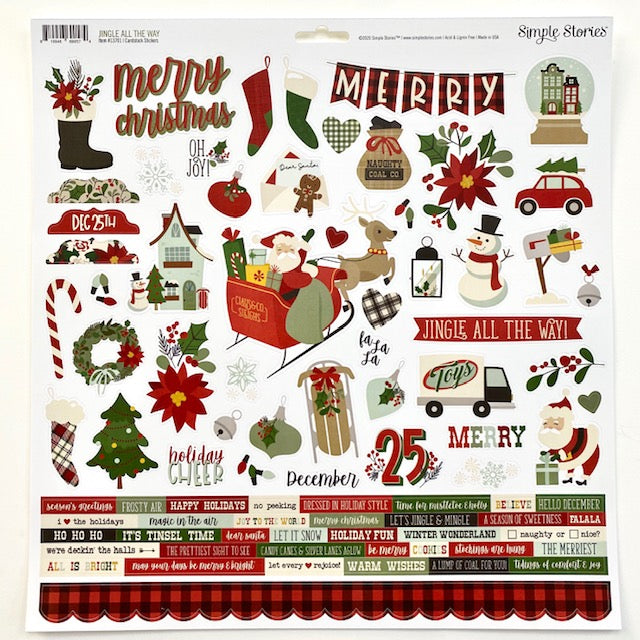 "NEW ""Jingle All The Way"" Creative Kit"
