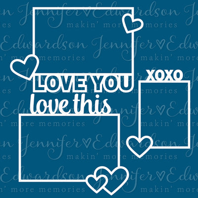 LOVE Bundle Cut Files