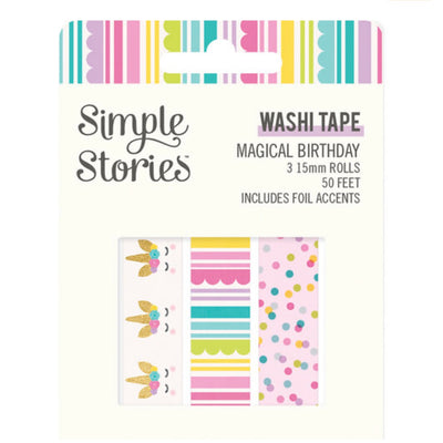 'Magical Birthday' Washi Tape