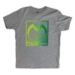 Moto Head Squared Up Youth Tee Grey