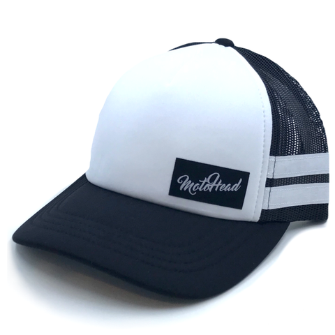 Moto Head Simple Trucker Hat