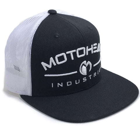 Moto Head Industry Snapback Hat