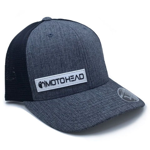 Moto Head Clutch Snapback Hat