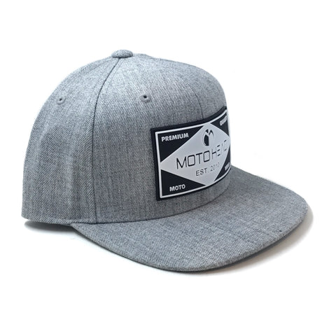 Moto Head Elevated Youth Snapback