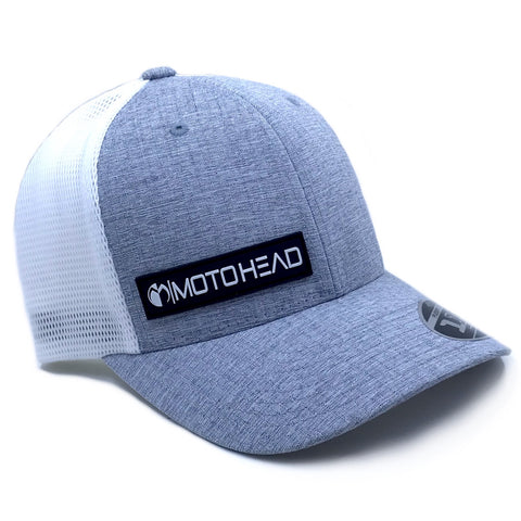 Moto Head Elevated Snapback Hat