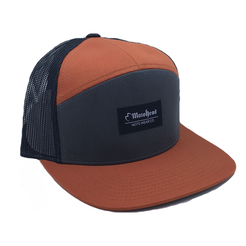 Moto Head Canyon Snapback