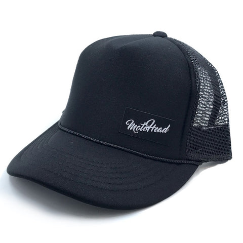 Moto Head Fern Trucker Snapback