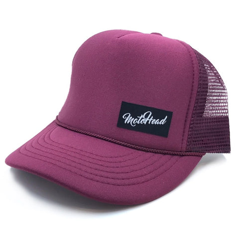 Moto Head Summer Trucker Hat