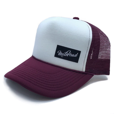 Moto Head Summer Nights Trucker Hat