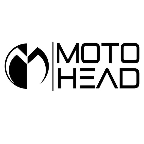 Moto Head Branded Corporate Decal