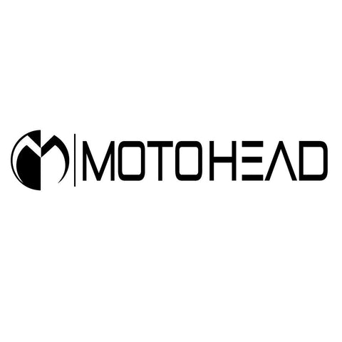 Moto Head Corporate Decal 12""