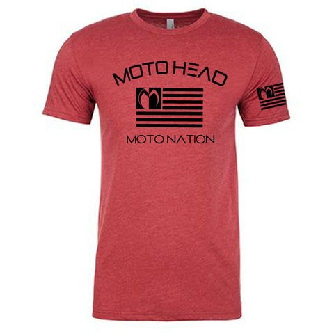 Moto Head Moto Nation Tee