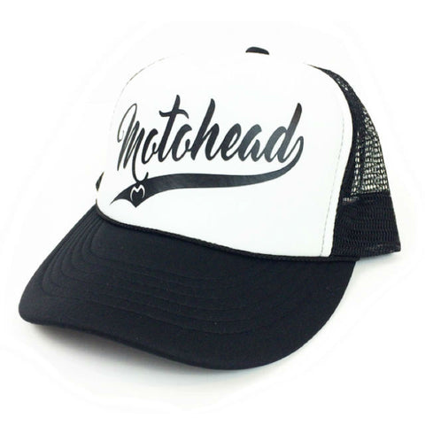 Moto Head MLB Trucker Hat Black/White