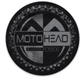 Moto Head United Decal