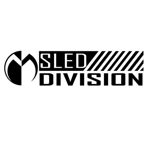 Moto Head Sled Division Decal