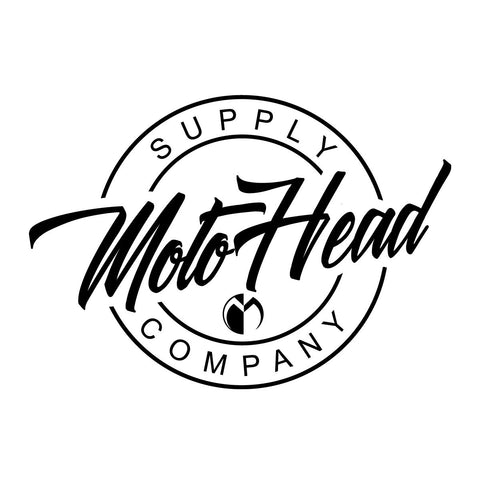 Moto Head Supply Decal 8""
